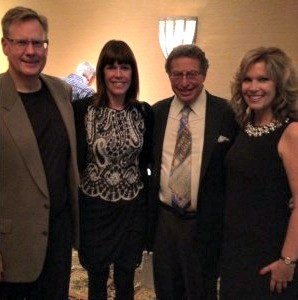 Photo: Dr. Powers, far left, attends a national nerve surgery conference in Arizona with Plastic Surgeon Dr. Lee Dellon (his mentor and also a peripheral nerve surgeon), middle right. Also in the picture is Luann Dellon, Dr. Dellon's wife, middle left, and Mrs. Powers, far right.