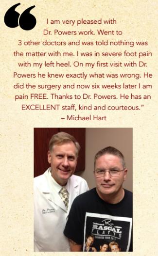 Michael's surgery testimonial