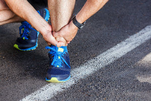Use RICE to treat an ankle injury