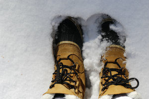 Keep feet warm and soft during winter