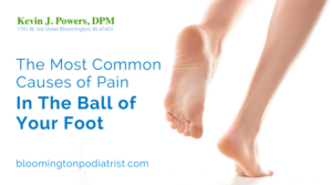 What Could be Bothering the Ball of Your Foot?